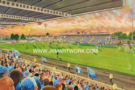 ballymena showgrounds on matchday